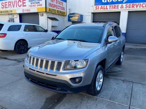 2016 Jeep Compass for sale at US Auto Network in Staten Island NY