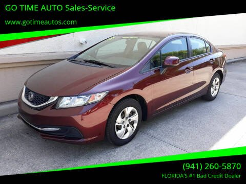 2013 Honda Civic for sale at Go Time Automotive in Sarasota FL