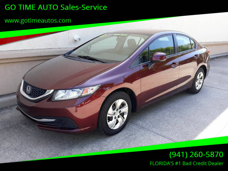 2013 Honda Civic for sale at Go Time Automotive in Sarasota FL