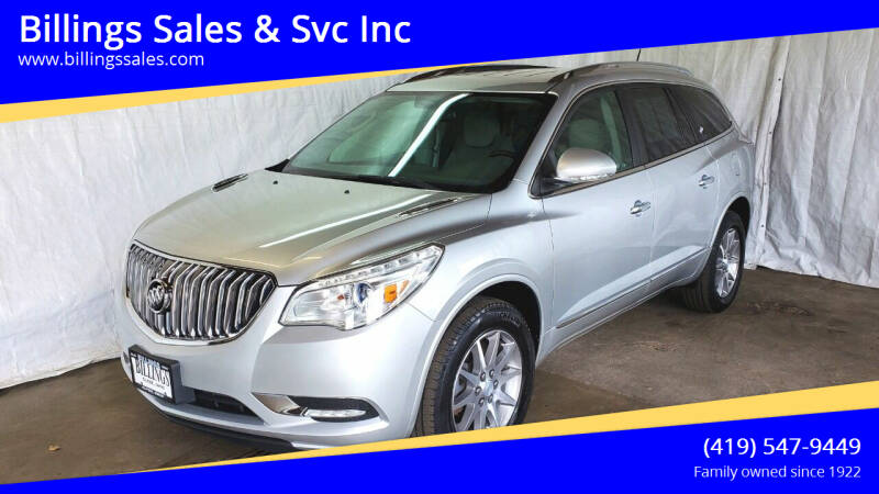 2017 Buick Enclave for sale at Billings Sales & Svc Inc in Clyde OH