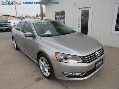 2013 Volkswagen Passat for sale at TWIN RIVERS CHRYSLER JEEP DODGE RAM in Beatrice NE