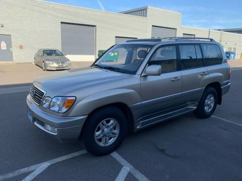 1999 Lexus LX 470 for sale at The Car Buying Center in St Louis Park MN