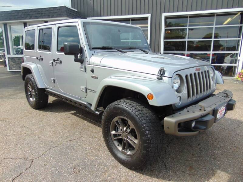 2016 Jeep Wrangler Unlimited for sale at Akron Auto Sales in Akron OH