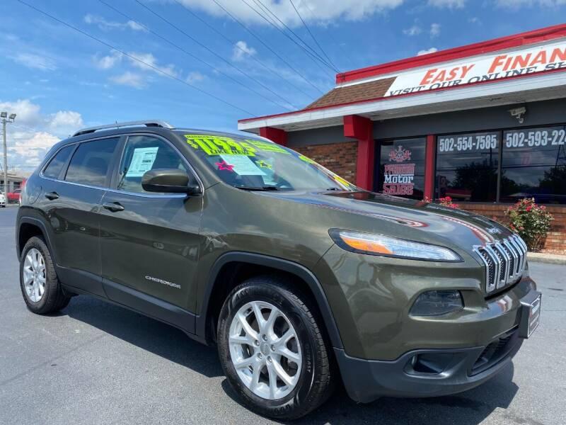 2015 Jeep Cherokee for sale at Premium Motors in Louisville KY