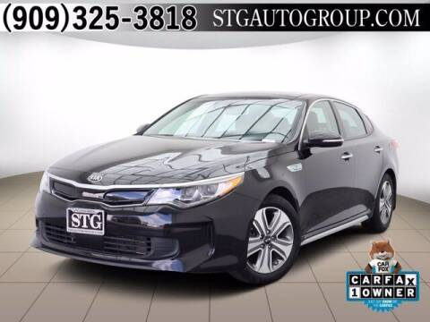 2018 Kia Optima Hybrid for sale at STG Auto Group in Montclair CA