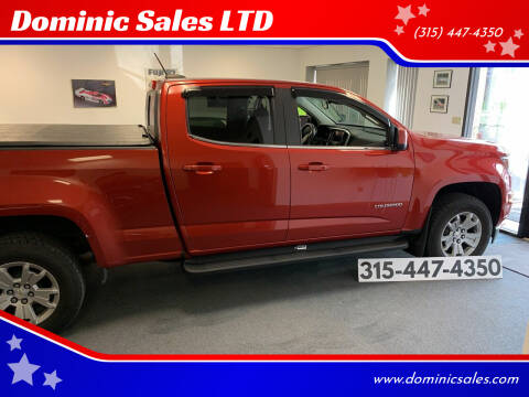 2016 Chevrolet Colorado for sale at Dominic Sales LTD in Syracuse NY