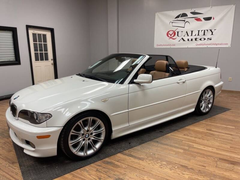 2006 BMW 3 Series for sale at Quality Autos in Marietta GA