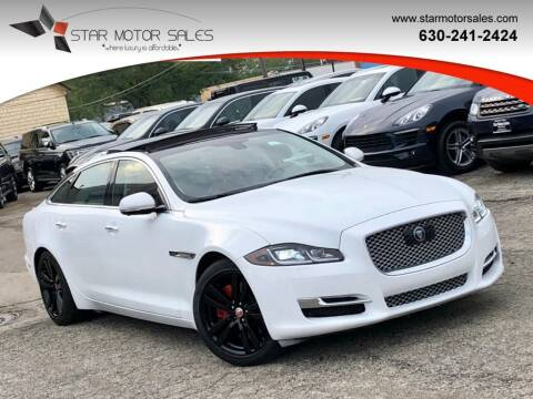 2017 Jaguar XJL for sale at Star Motor Sales in Downers Grove IL