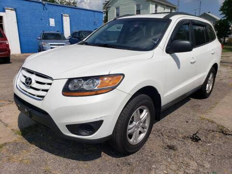 2010 Hyundai Santa Fe for sale at M & C Auto Sales in Toledo OH