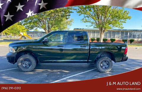 2013 RAM Ram Pickup 1500 for sale at J & M Auto Land in Sacramento CA
