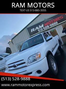 2006 Toyota Tundra for sale at RAM MOTORS in Cincinnati OH
