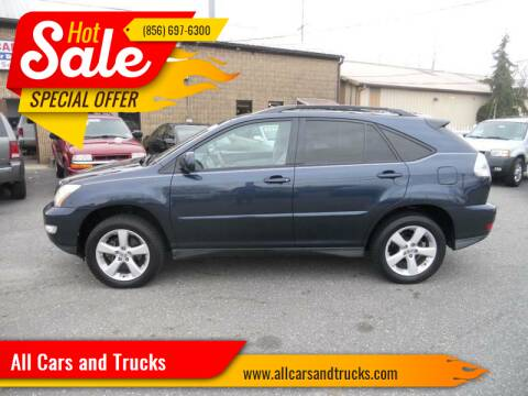 2006 Lexus RX 330 for sale at All Cars and Trucks in Buena NJ