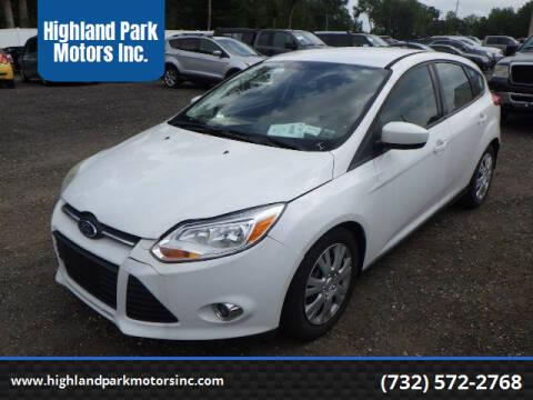 2012 Ford Focus for sale at Highland Park Motors Inc. in Highland Park NJ
