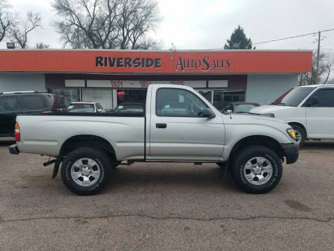 2003 Toyota Tacoma for sale at RIVERSIDE AUTO SALES in Sioux City IA
