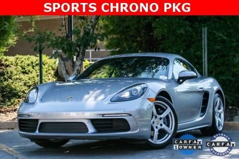 2018 Porsche 718 Cayman for sale at Gravity Autos Atlanta in Atlanta GA