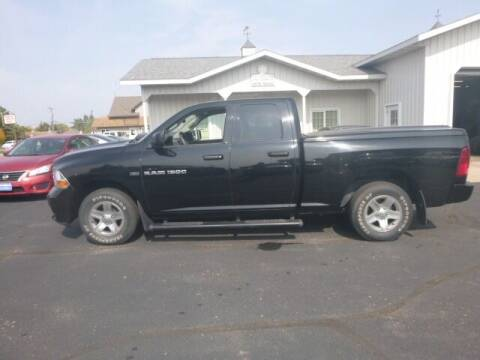 2012 RAM Ram Pickup 1500 for sale at JIM WOESTE AUTO SALES & SVC in Long Prairie MN
