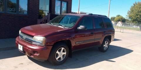 2004 Chevrolet TrailBlazer for sale at CARS4LESS AUTO SALES in Lincoln NE