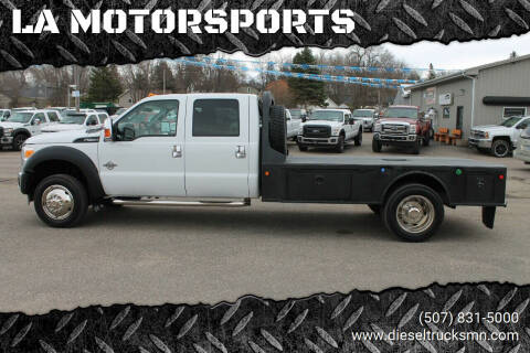 2015 Ford F-550 Super Duty for sale at LA MOTORSPORTS in Windom MN