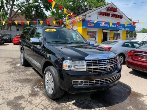 2011 Lincoln Navigator L for sale at C & M Auto Sales in Detroit MI