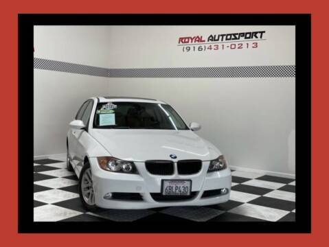 2007 BMW 3 Series for sale at Royal AutoSport in Sacramento CA