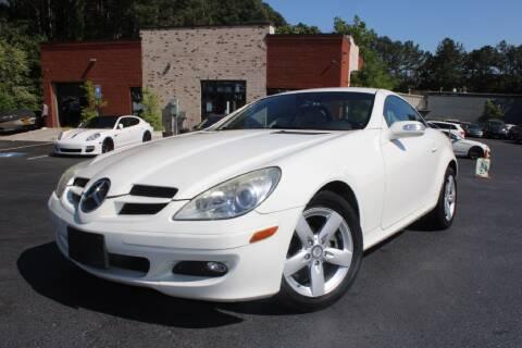 2008 Mercedes-Benz SLK for sale at Atlanta Unique Auto Sales in Norcross GA