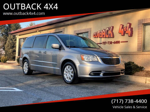 2014 Chrysler Town and Country for sale at OUTBACK 4X4 in Ephrata PA
