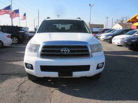 2008 Toyota Sequoia for sale at T & D Motor Company in Bethany OK