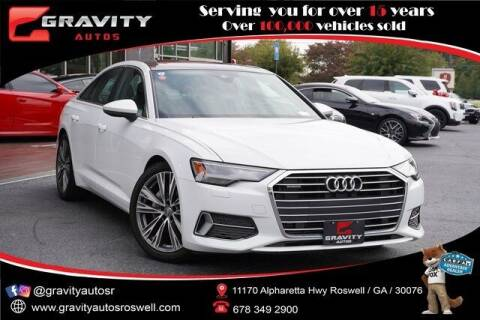 2020 Audi A6 for sale at Gravity Autos Roswell in Roswell GA
