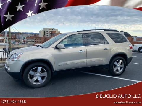 2009 GMC Acadia for sale at 6 Euclid Auto LLC in Bristol VA