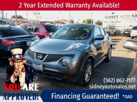 2013 Nissan JUKE for sale at Sidney Auto Sales in Downey CA