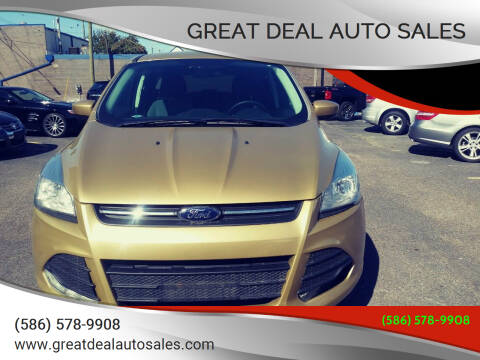 2014 Ford Escape for sale at GREAT DEAL AUTO SALES in Center Line MI
