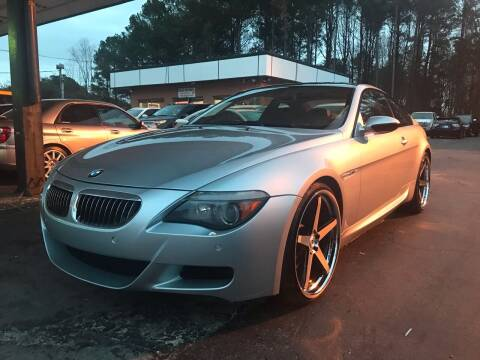 2007 BMW M6 for sale at Magic Motors Inc. in Snellville GA