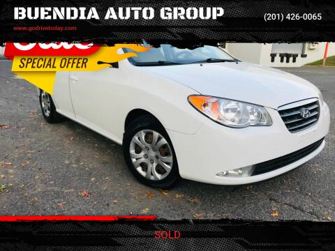 2009 Hyundai Elantra for sale at BUENDIA AUTO GROUP in Hasbrouck Heights NJ