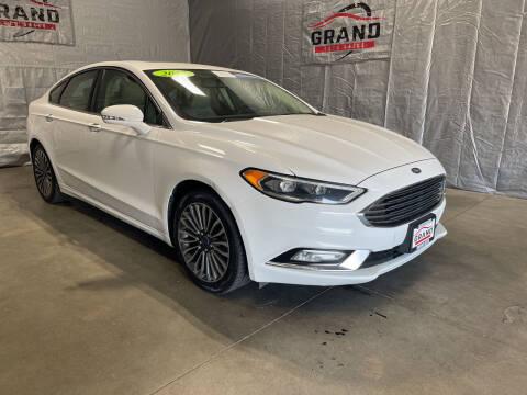 2017 Ford Fusion for sale at GRAND AUTO SALES in Grand Island NE