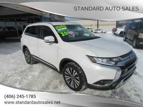 2020 Mitsubishi Outlander for sale at Standard Auto Sales in Billings MT
