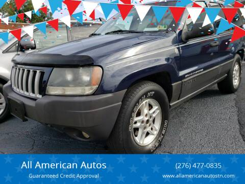 2004 Jeep Grand Cherokee for sale at All American Autos in Kingsport TN