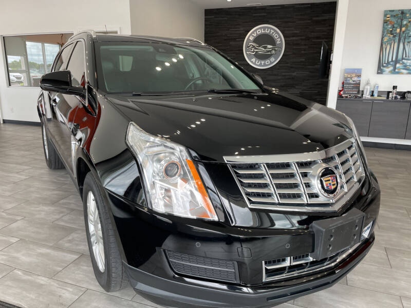 2016 Cadillac SRX for sale at Evolution Autos in Whiteland IN