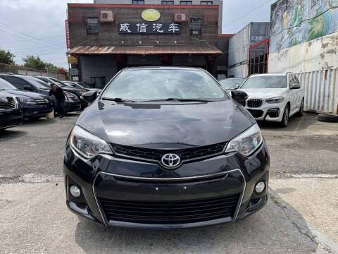 2016 Toyota Corolla for sale at TJ AUTO in Brooklyn NY
