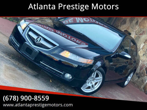 2008 Acura TL for sale at Atlanta Prestige Motors in Decatur GA