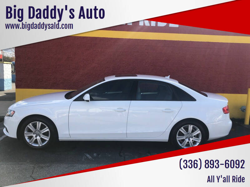 2011 Audi A4 for sale at Big Daddy's Auto in Winston-Salem NC