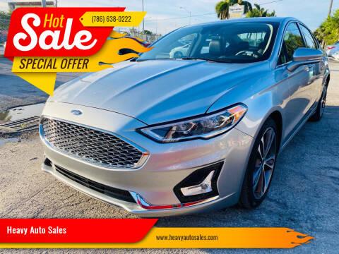 2020 Ford Fusion for sale at Heavy Auto Sales in Miami FL