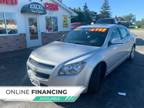2012 Chevrolet Malibu for sale at Excel Auto Sales LLC in Kawkawlin MI
