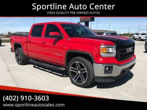 2015 GMC Sierra 1500 for sale at Sportline Auto Center in Columbus NE