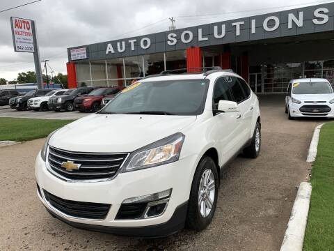 2014 Chevrolet Traverse for sale at Auto Solutions in Warr Acres OK