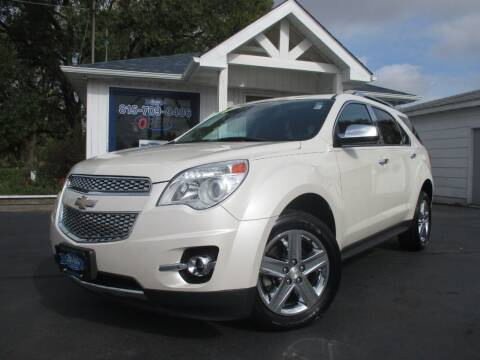 2014 Chevrolet Equinox for sale at Blue Arrow Motors in Coal City IL