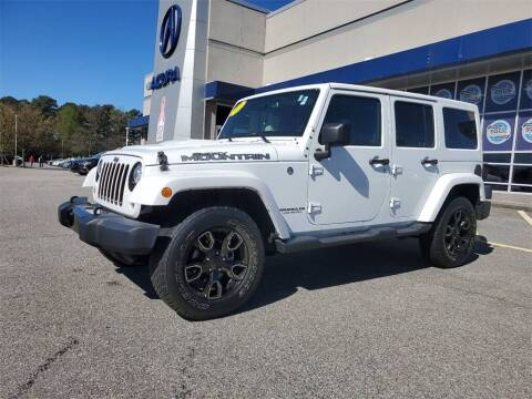 2017 Jeep Wrangler Unlimited for sale at Southern Auto Solutions - Acura Carland in Marietta GA