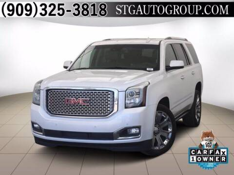 2016 GMC Yukon for sale at STG Auto Group in Montclair CA
