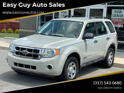 2008 Ford Escape for sale at Easy Guy Auto Sales in Indianapolis IN