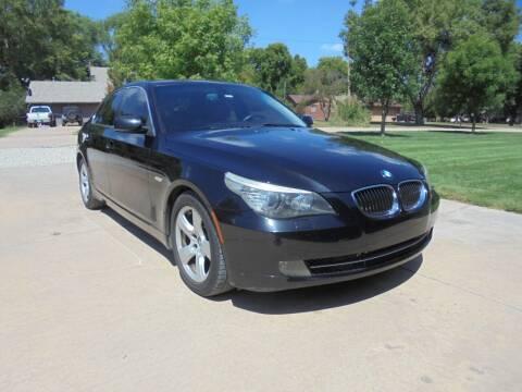 2008 BMW 5 Series for sale at D & P Sales LLC in Wichita KS