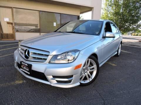 2012 Mercedes-Benz C-Class for sale at PK MOTORS GROUP in Las Vegas NV